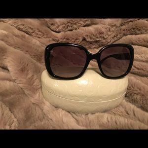 Coach black Lola sunglasses